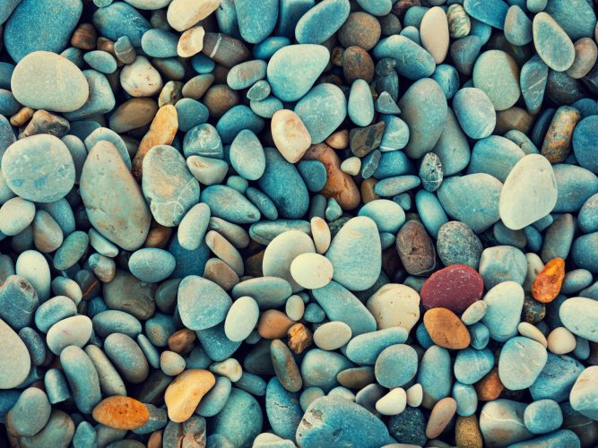 RIVER ROCK, SAND, AND GRAVEL